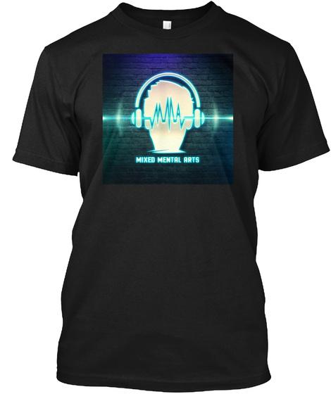 Mixed Mental Arts Full Color T Shirt Black T-Shirt Front