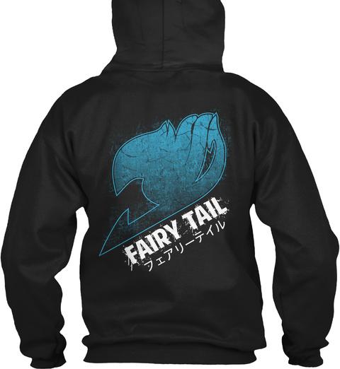 Fairy Tail Black T-Shirt Back