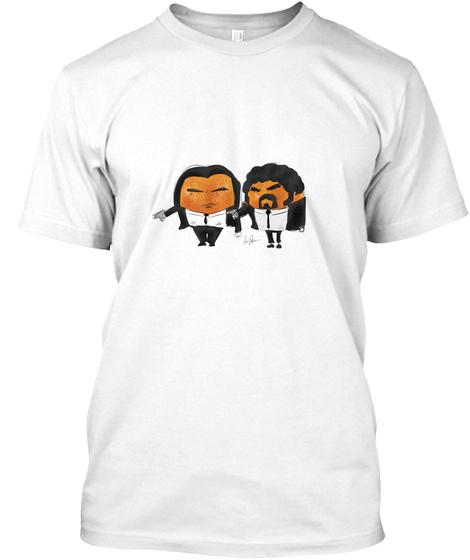 Pulp Fiction White T-Shirt Front