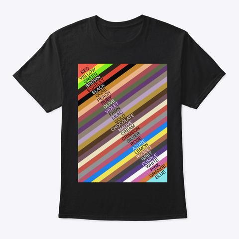 Walking Work Of Art Black T-Shirt Front