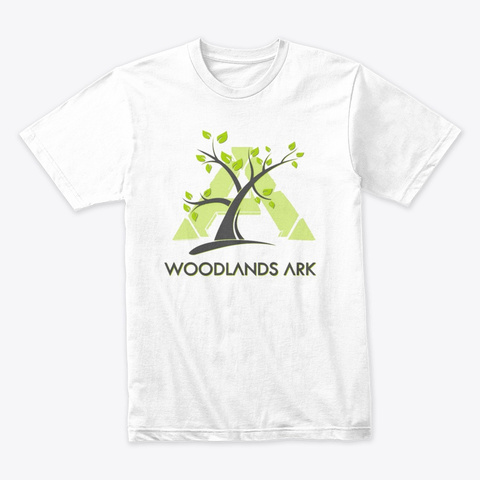 Woodlands Ark White T-Shirt Front