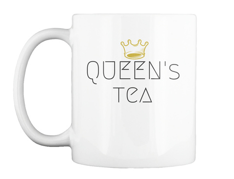 A Royal Cocktail White Mug Front