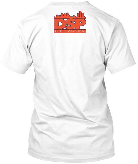 Dsp Not My Bullpen White T-Shirt Back