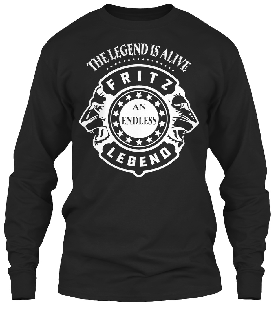 Never Underestimate The Power of Fritz Hoodie Black