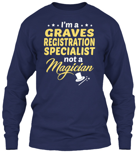 Graves Registration Specialist -Magician Hoodie Tshirt