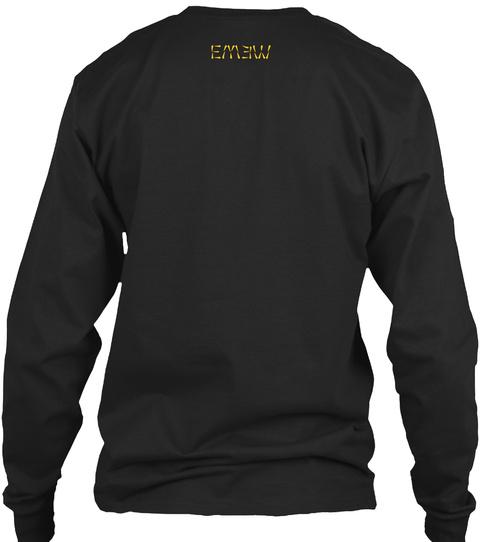 Em3 W Black T-Shirt Back