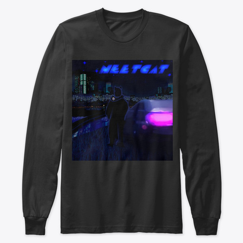 Comfy Days Merch Black T-Shirt Front