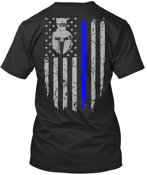 I Am The Storm Black T-Shirt Back