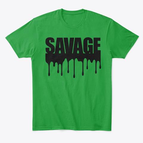 Savage  Kelly Green T-Shirt Front