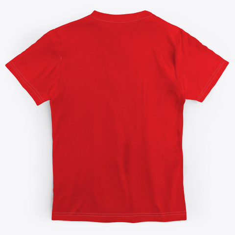Love Vibe Tribe Red T-Shirt Back