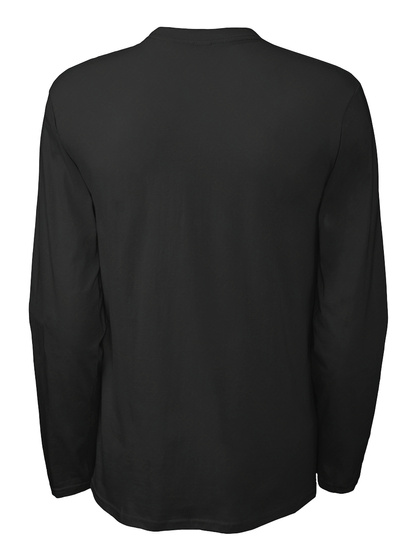 Justicia Y Libertad   Long Sleeve Black Camiseta Back