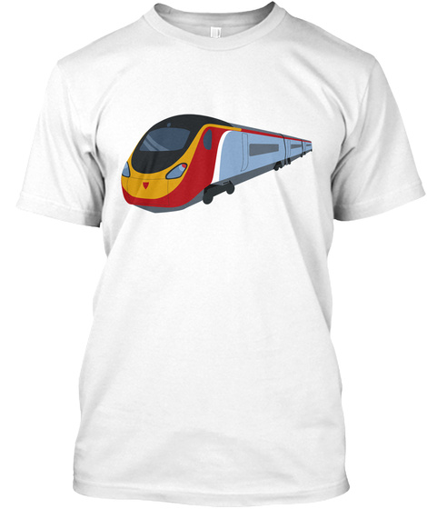 Class 390 White T-Shirt Front