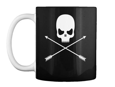 Spooky Halloween Mug Black Tazza Front
