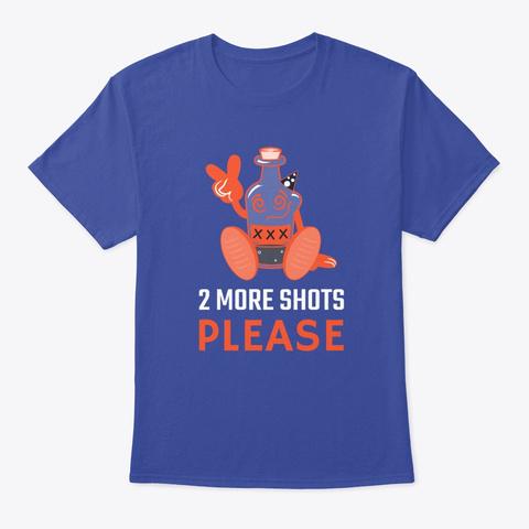 N/A Deep Royal T-Shirt Front
