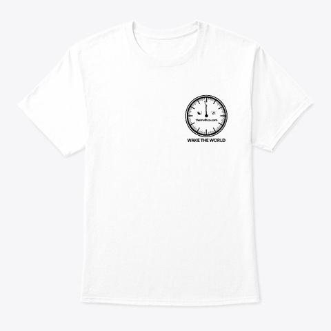 Thhetruthco.Com White T-Shirt Front