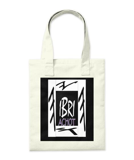 Ibri Achot Sister Natural T-Shirt Back