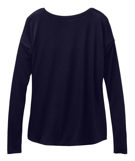 Be A Sweeps Piece. Midnight Long Sleeve T-Shirt Back
