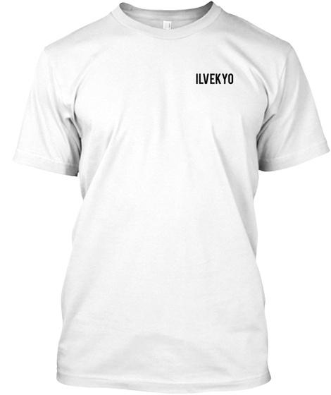 Ilvekyo White T-Shirt Front
