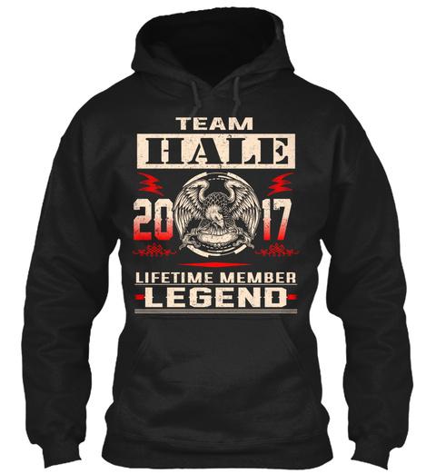 Team Hale 2017 Black T-Shirt Front