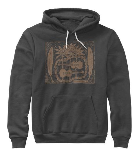 Ukulele Duo Dark Grey Heather T-Shirt Front