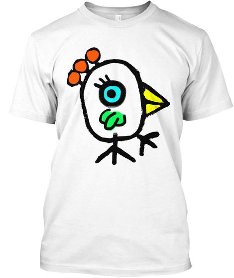 Rolando Chang Barrero Pajaro  White T-Shirt Front