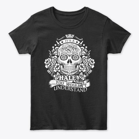 Haley Thing   Sugar Skulls Tee Black T-Shirt Front