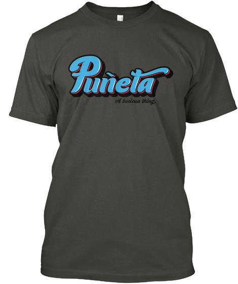 Puneta A Borequa Thing Smoke Gray T-Shirt Front