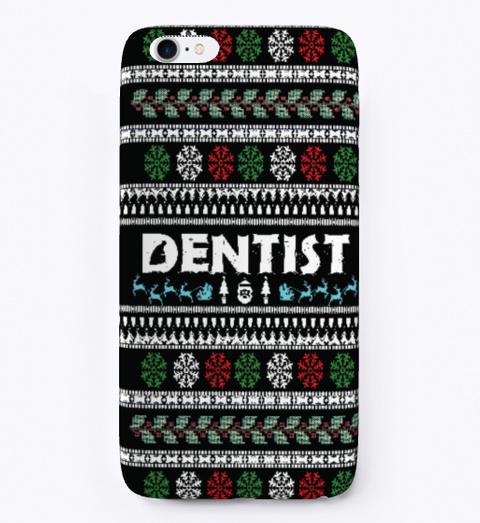christmas phone case dentist
