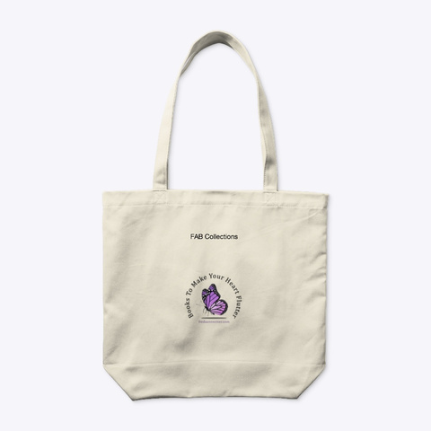 Summer In Bliss Book/Tote Natural T-Shirt Back