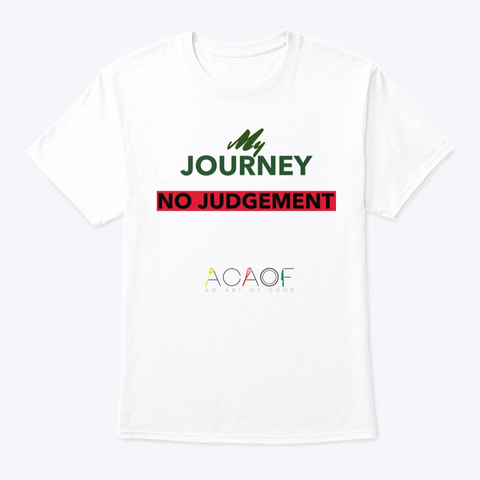 My Journey... White T-Shirt Front
