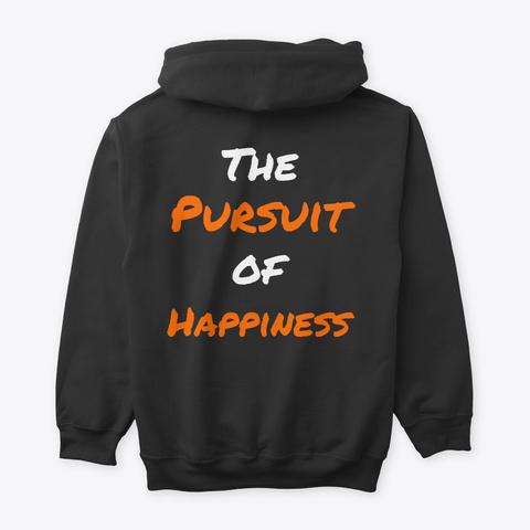 Justsume Founder's Edition Hoodie Black Camiseta Back