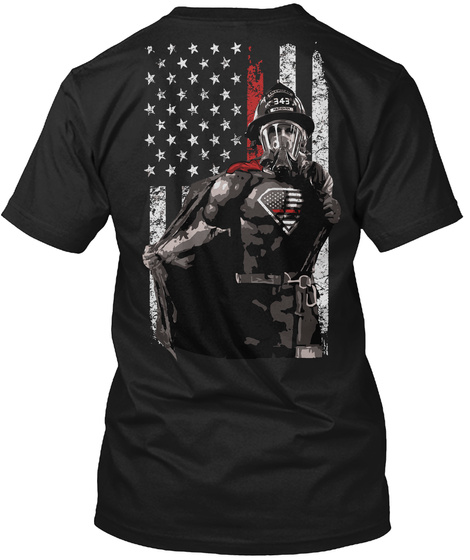 Na Black T-Shirt Back