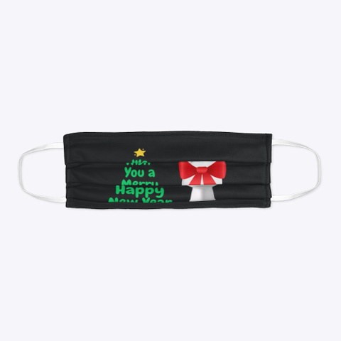 Merry Toilet Black T-Shirt Flat