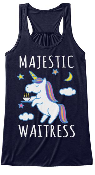 Majestic Waitress Midnight T-Shirt Front