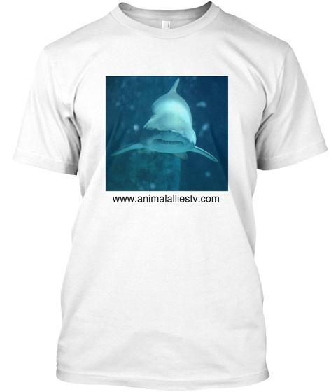 Www.Animalalliestv.Com White T-Shirt Front