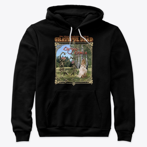 Hoodie: Chasing Ophelia Black T-Shirt Front
