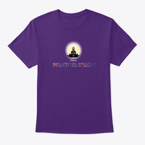 Soy Adicto/A Al Mantra Purple Maglietta Front