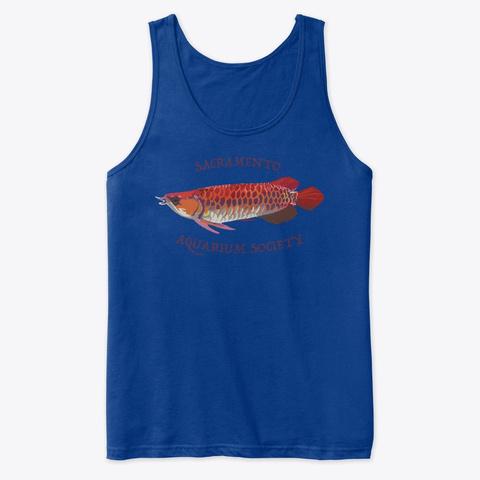 Sas Arowana True Royal T-Shirt Front