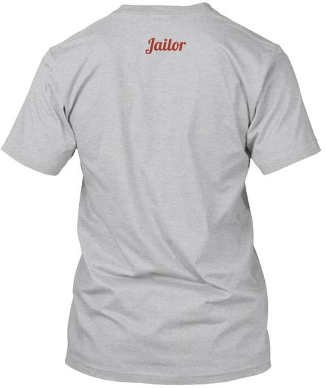 Jailor Sport Grey T-Shirt Back