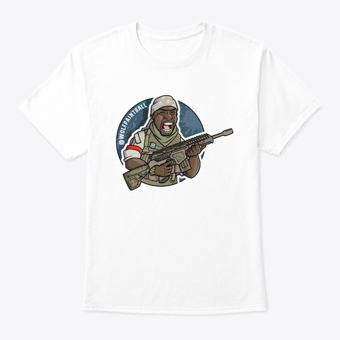 Wolf 2019 Big Tee White T-Shirt Front