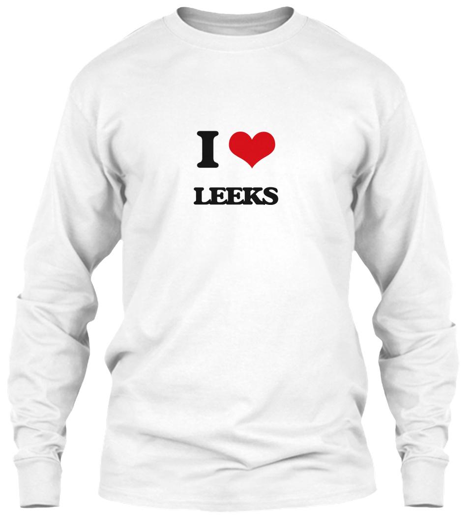 I Love Heart Leeks Sweatshirt