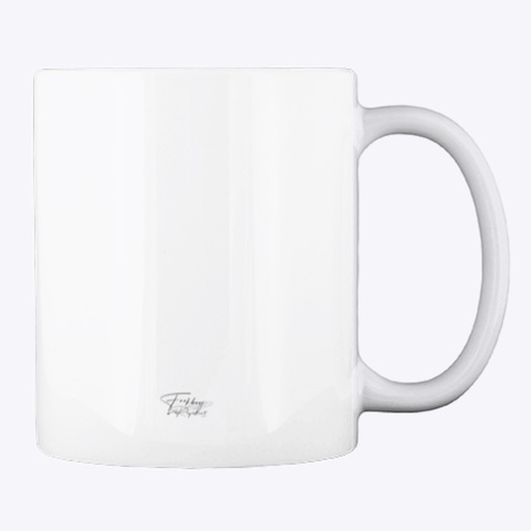 Logo  F**Kboy Repellent  Mug White T-Shirt Back