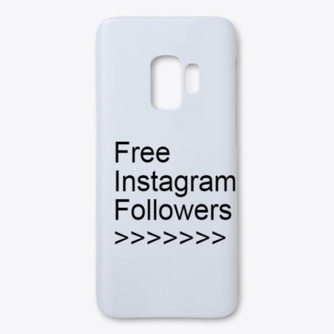 Free Instagram Followers No Survey 2020 White T-Shirt Front