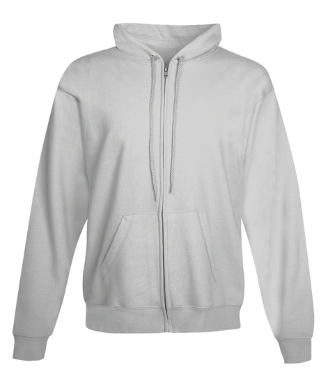 Companion Animal Psychology Zip Hoodie Ash Sweatshirt Front
