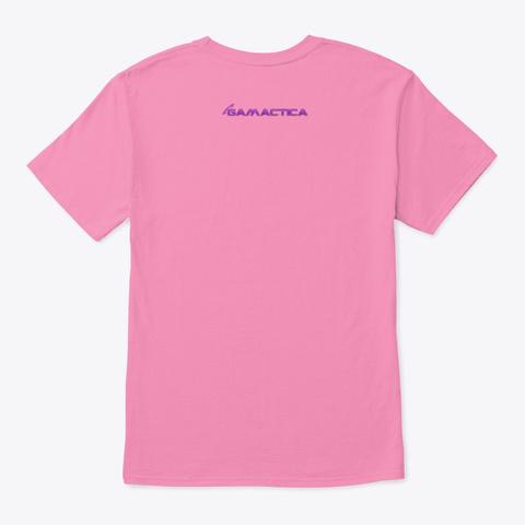 Gamactica Women Pink T-Shirt Back