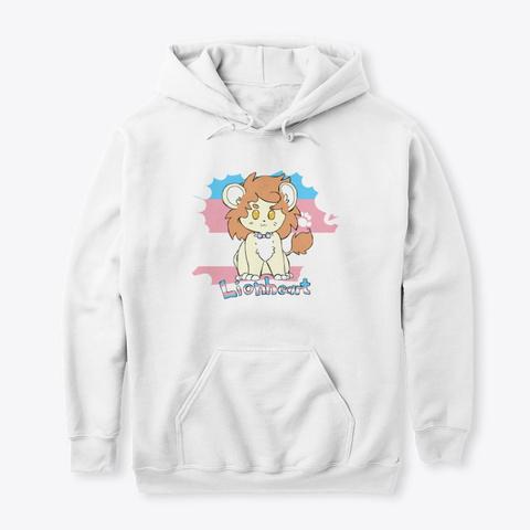 Lionheart White Sweatshirt Front