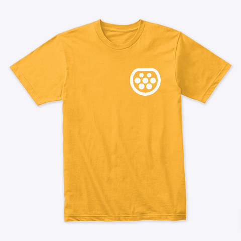 E Mobility In January 2nd Gold T-Shirt Front
