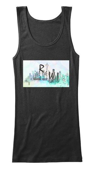 Readers And Writers Seattle 2019 Black Women's Tank Top Front