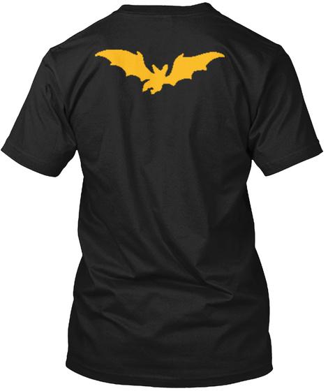 Fear Taste Black T-Shirt Back