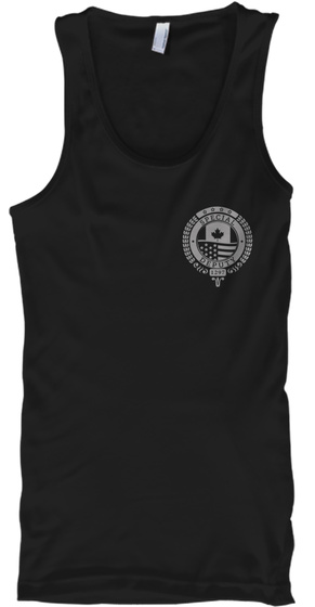 Special Deputy 1247 Black Tank Top Front